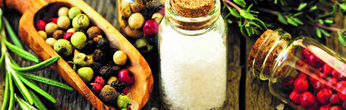 SALT, SPICES & SEASONINGS