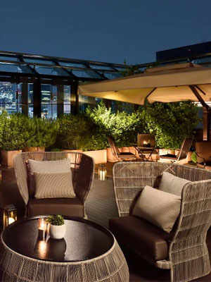 Terrazza Dom Pérignon Lounge opened at Bulgari Ginza