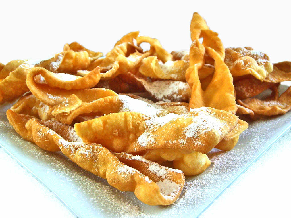 Chiacchiere, Sweet Carnival Fritters