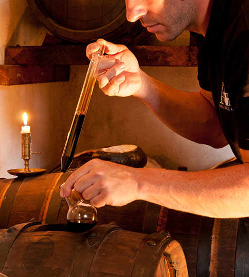 It is from the smallest barrel that Traditional Balsamic Vinegar PDO is extracted.