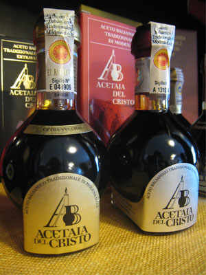 The Balsamic Vinegar of the Acetaia del Cristo